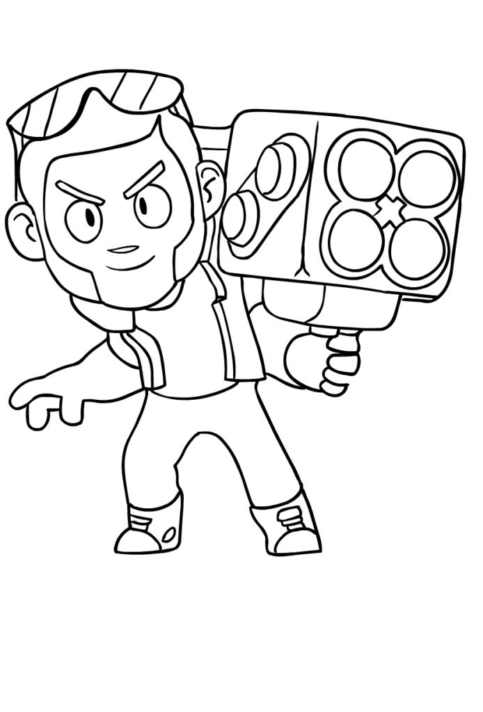 30 Best Brawl Stars Coloring Pages Kids Ausmalbildertv