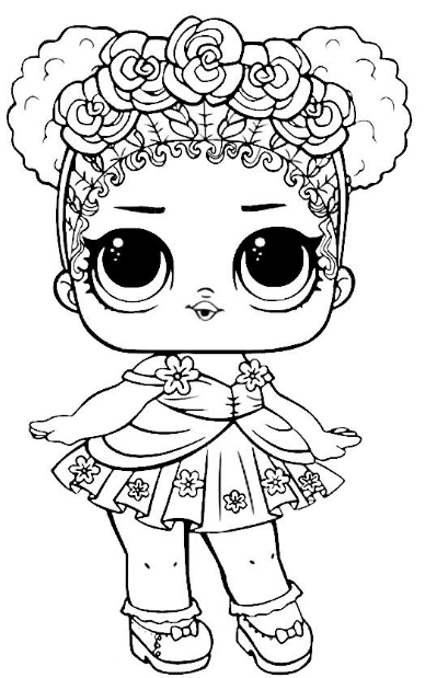 Livre De Coloriages Lol Surprise Dolls Kids Ausmalbildertv