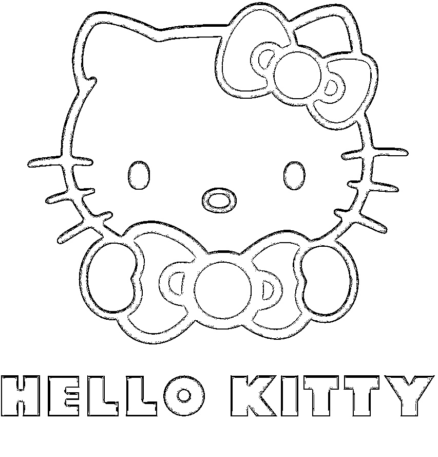 Kids printable Lisa Frank coloring sheet online | Cat coloring ... | 889x853