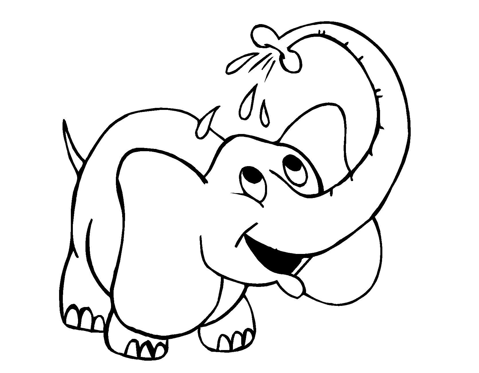 - Free Printable Elephant Coloring Pages - Kids-AusmalbilderTV